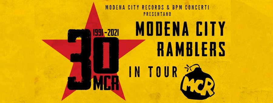 13 Agosto 2021 – Modena City Ramblers Tour 2021